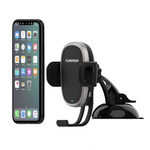 PureGear - AutoGrip Wireless panoramico Car Charger Qi (Mount)