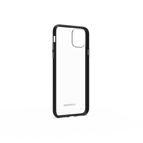 PureGear - Slim Shell (Cl/BK) iPhone 11Pro Max