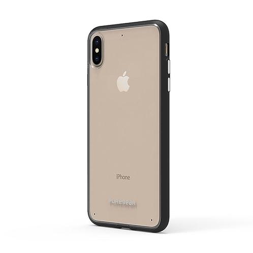 PUREGEAR Slim Shell Protector iPhone XsMax Transparente/Negro
