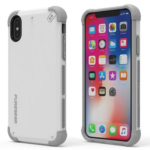 PureGear -  Estuche Dualtek (blanco) iPhone XS/X