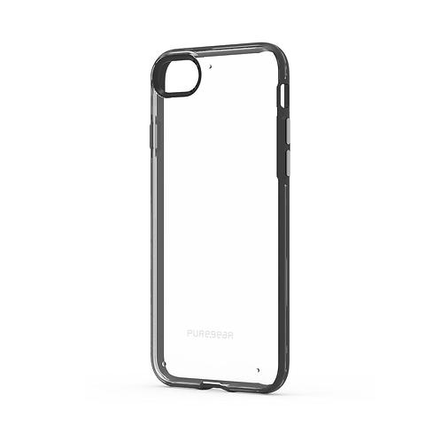 Puregear Slim Shell Protector iPhone SE2020/8/7 Transparente/Negro