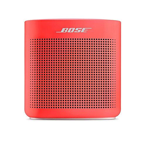 Bose Altavoz SoundLink Color II Bluetooth Rojo