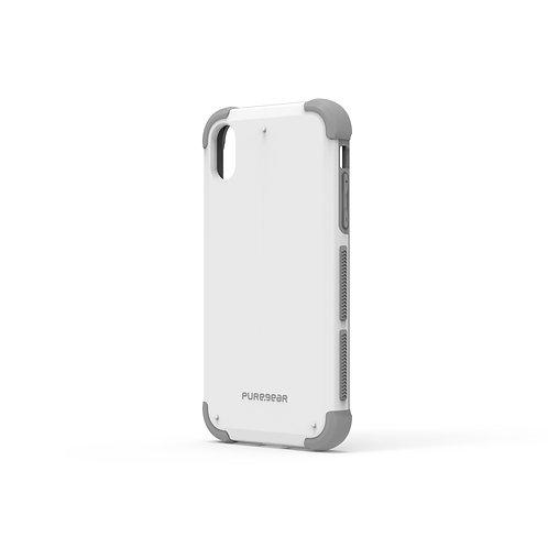 Puregear Dualtek Protector iPhone XR Blanco