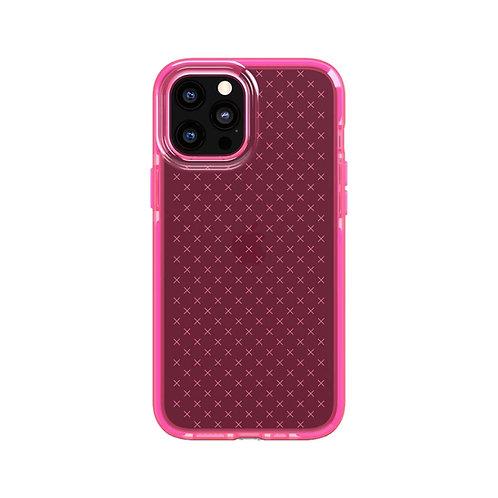 Tech21 Evo Check Protector iPhone 12 / 12 Pro Rosa Luminoso