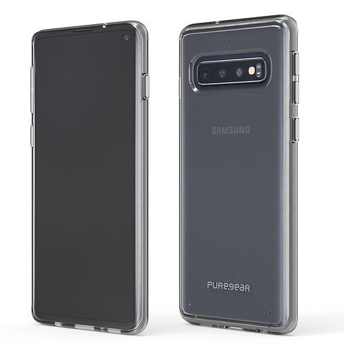 PUREGEAR Slim Shell Protector Galaxy S10+ Transparente