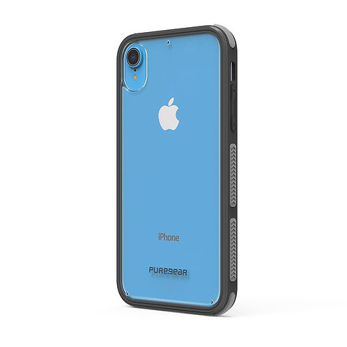 PUREGEAR Dualtek Protector iPhone XR Transparente/Negro