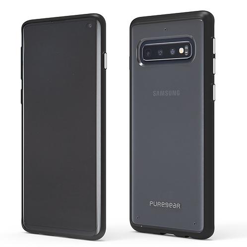 PUREGEAR Slim Shell Protector Galaxy S10+ Transparente/Negro