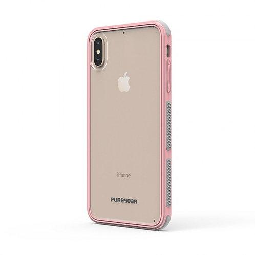 PureGear - Dualtek Clear (rosa) iPhone Xs Max