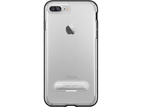 Spigen Crystal Hybrid Protector Iphone 8+ / 7+ Borde Negro