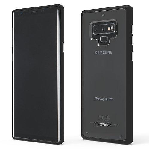 PUREGEAR Slim Shell Protector Galaxy Note9 Transparente/Negro