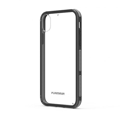 PureGear - Dualtek Clear (negro) iPhone XR