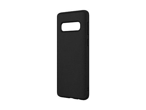 Rhinoshield SolidSuit Protector Galaxy S10 Cuero Negro