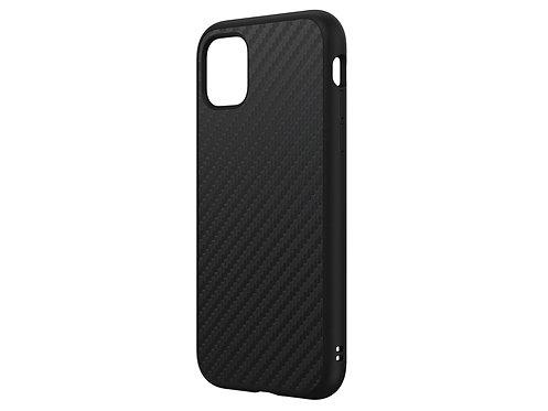 Rhinoshield SolidSuit Protector iPhone 11 Fibra De Carbón Negro
