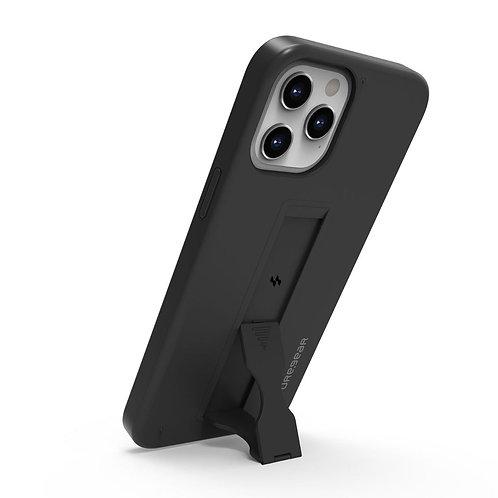 Puregear SlimStik Protector con soporte iPhone 12 / 12 Pro Negro