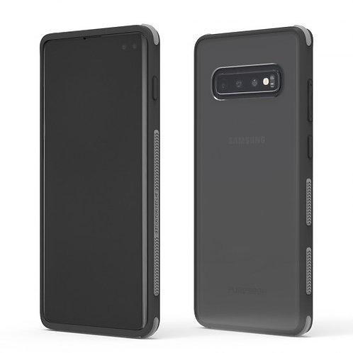 PureGear - Dualtek Clear (negro) S10+