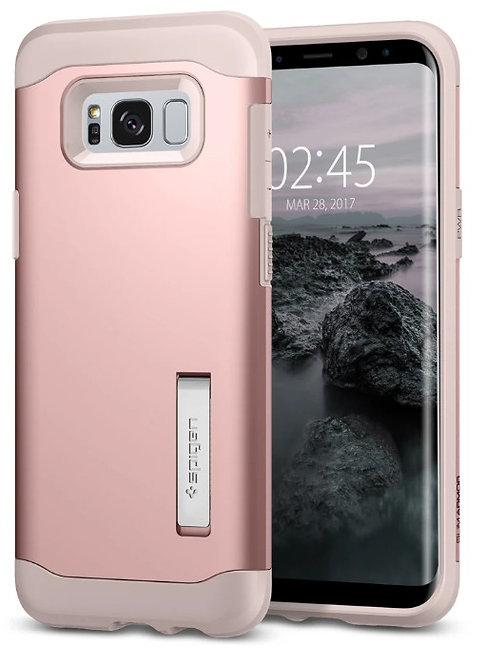 Spigen Slim Armor Protector Galaxy S8+ Rosa