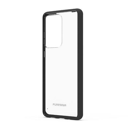 PUREGEAR Slim Shell Protector Galaxy S20Ultra Transparente/Negro