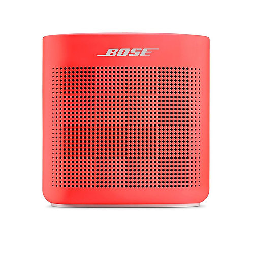 Bose Altavoz SoundLink Color II Bluetooth Rojo