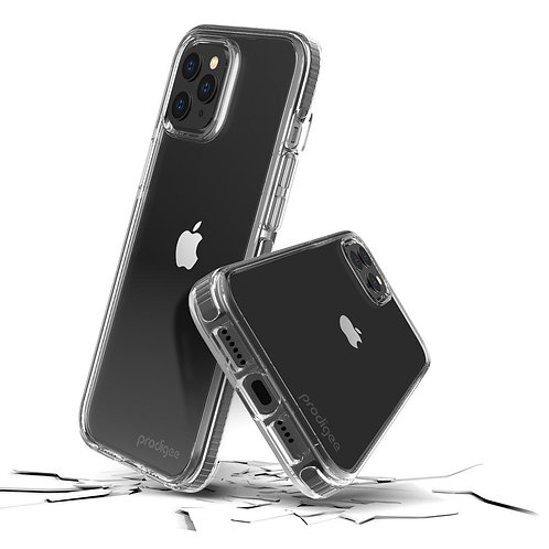Prodigee Safetee Steel Iphone 12 Pro Max Transparente/Borde Negro