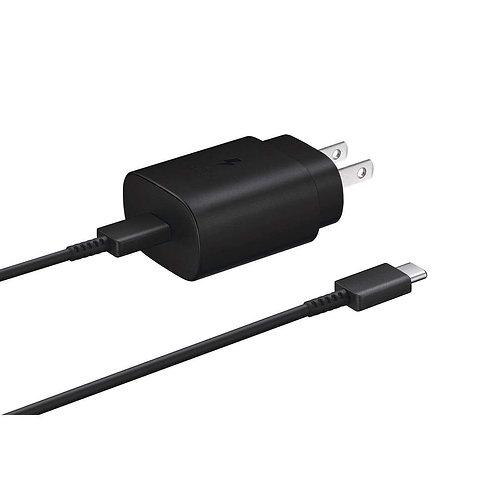 Samsung Cargador De Pared USB C de 25W Negro
