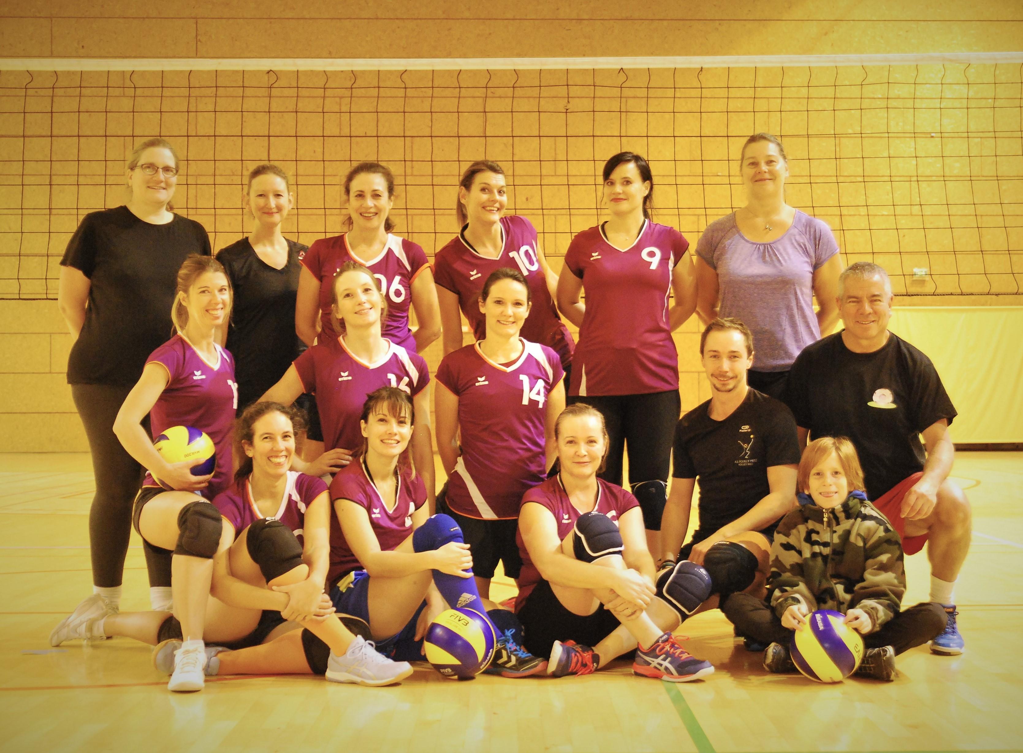 Equipe Divonne Volleyball Club 2020