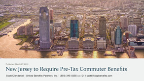 New Jersey to Require Pre-Tax Commuter Benefits