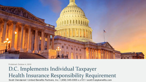 D.C. Implements Individual Taxpayer Health Insurance Responsibility Requirement