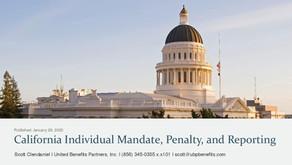 California Individual Mandate, Penalty, and Reporting