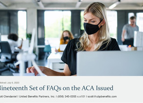 Departments Issue FAQ Part 43 on COVID-19
