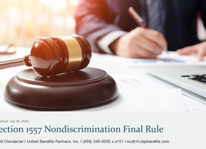 Section 1557 Nondiscrimination Final Rule