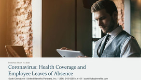 Coronavirus: Health Coverage and Employee Leaves of Absence