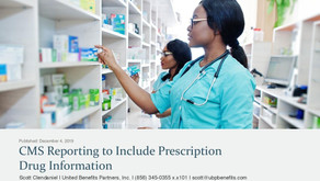 CMS Reporting to Include Prescription Drug Information