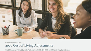 2020 Cost of Living Adjustments