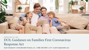 DOL Guidance on Families First Coronavirus Response Act