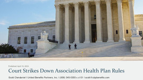 Court Strikes Down Association Health Plan Rules