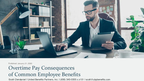 Overtime Pay Consequences of Common Employee Benefits