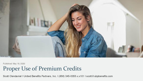 Proper Use of Premium Credits