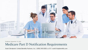 Medicare Part D Notification Requirements