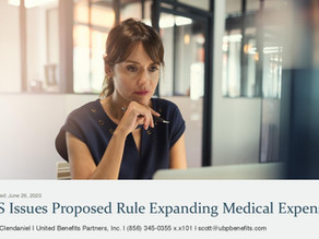 IRS Issues Proposed Rule Expanding Medical Expenses