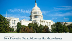 New Executive Order Addresses Healthcare Issues