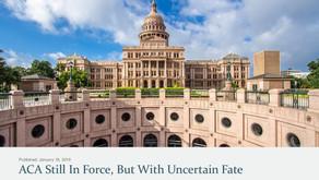 Texas Court Invalidates ACA