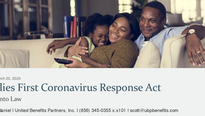 Families First Coronavirus Response Act: Signed into Law