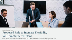 Proposed Rule to Increase Flexibility for Grandfathered Plans