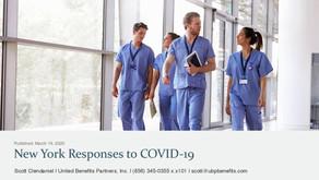 New York Responses to COVID-19