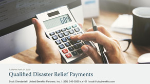 Qualified Disaster Relief Payments