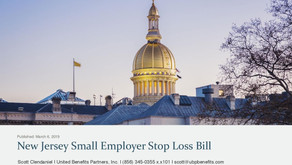 New Jersey Small Employer Stop Loss Bill