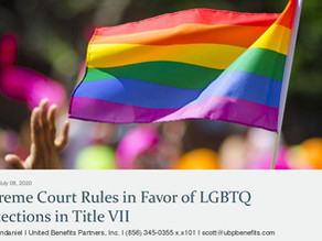 Supreme Court Rules in Favor of LGBTQ Protections in Title VII