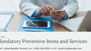 New Mandatory Preventive Items and Services