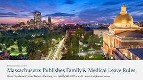Massachusetts Publishes Family: Medical Leave Rules