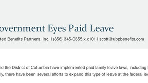 Federal Government Eyes Paid Leave